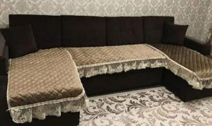 Набор сидушек диван + 2 кресла