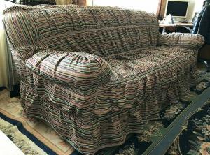 Комплект - чехол на диван и 2 кресла / Гобелен